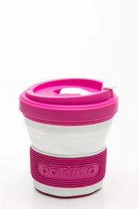 Pokito collapsible cup - Raspberry