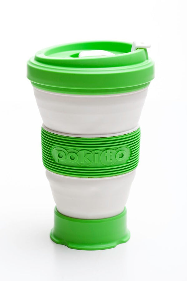Pokito collapsible cup: Lime