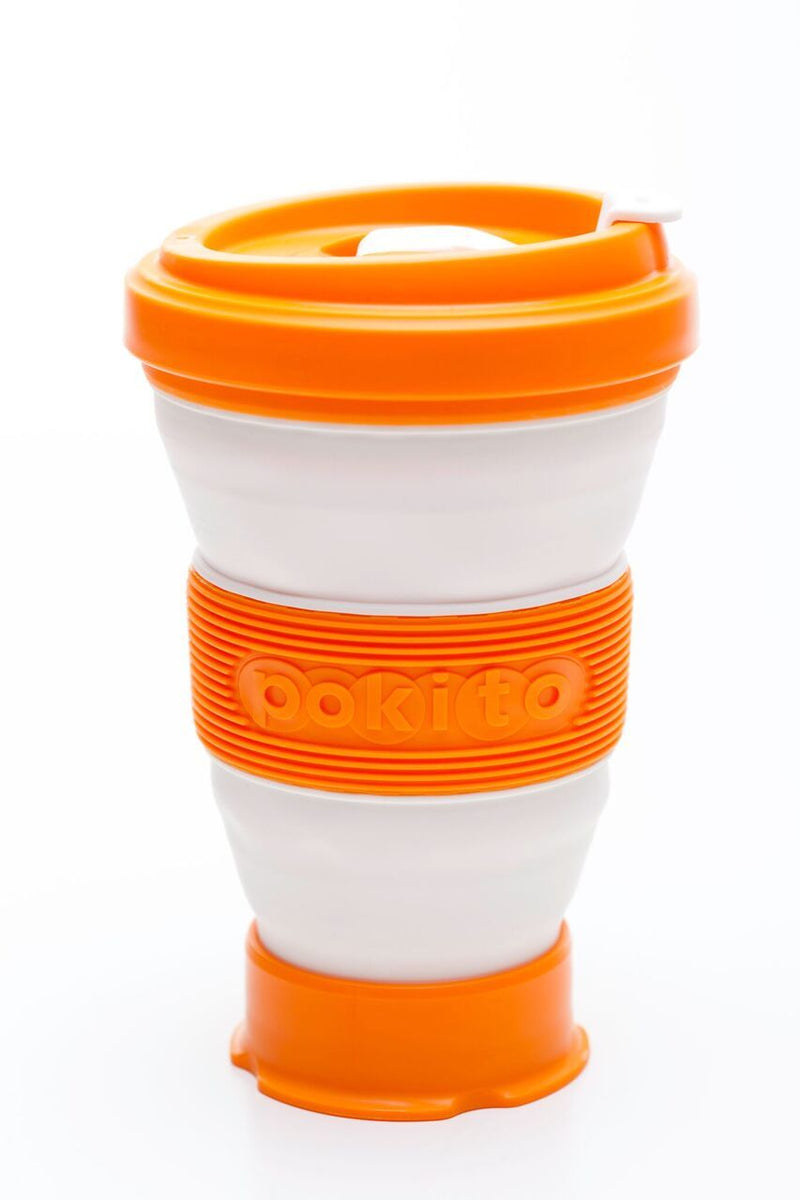 Pokito collapsible cup:  Pumpkin