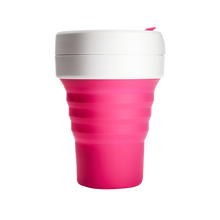 Load image into Gallery viewer, Stojo Pocket 12oz Cup - Pink