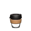 KeepCup Reusable Brew Cup Cork Mini: Black