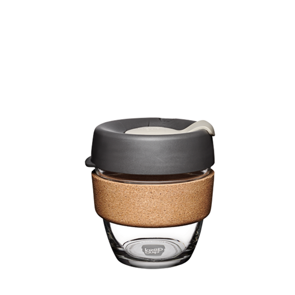 KeepCup Reusable Brew Cup Cork Small: Press