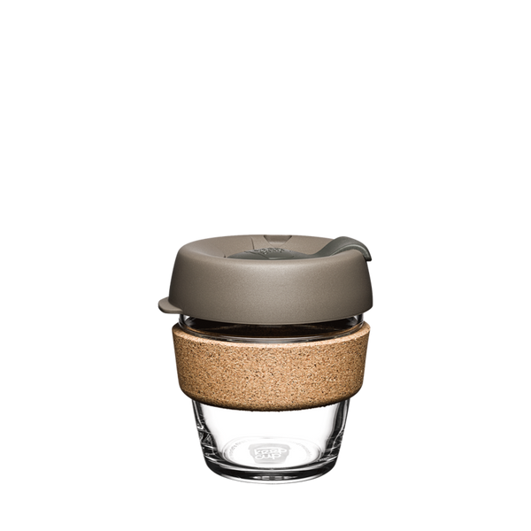 KeepCup Reusable Brew Cup Cork Mini: Latte