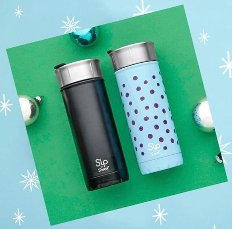 S'ip by S'well Reusable Travel Mug: Coffee Black