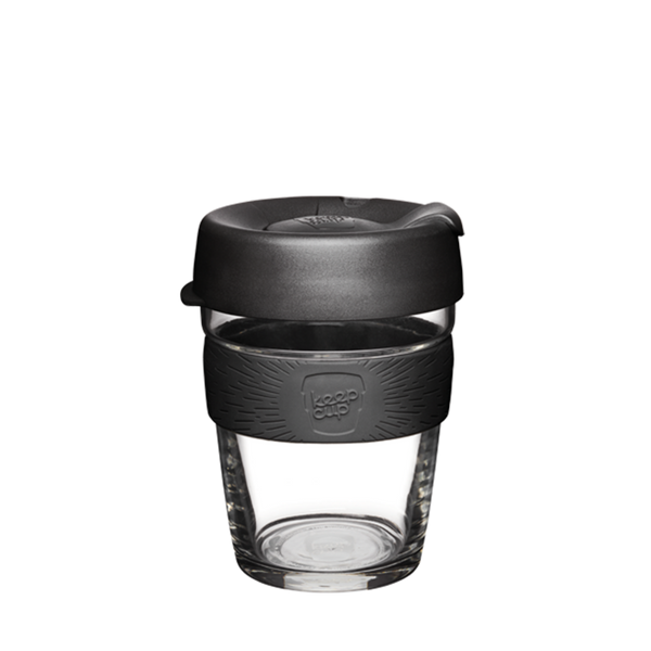 KeepCup Reusable Brew Cup Medium: Black