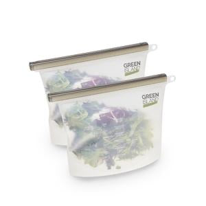 Reusable Food Storage Bags - Set of 2