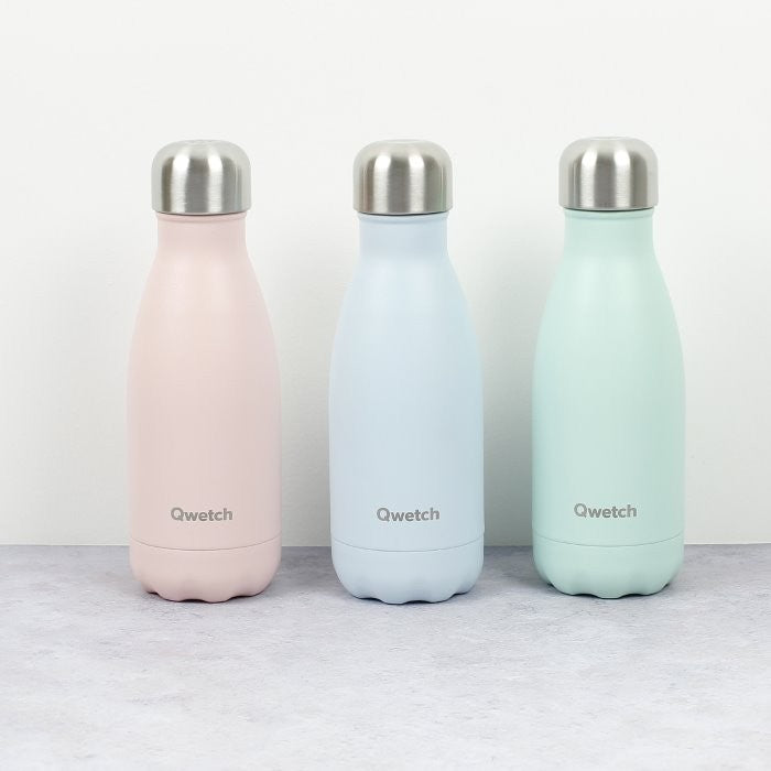 Qwetch Small Bottle - Pastel Pink