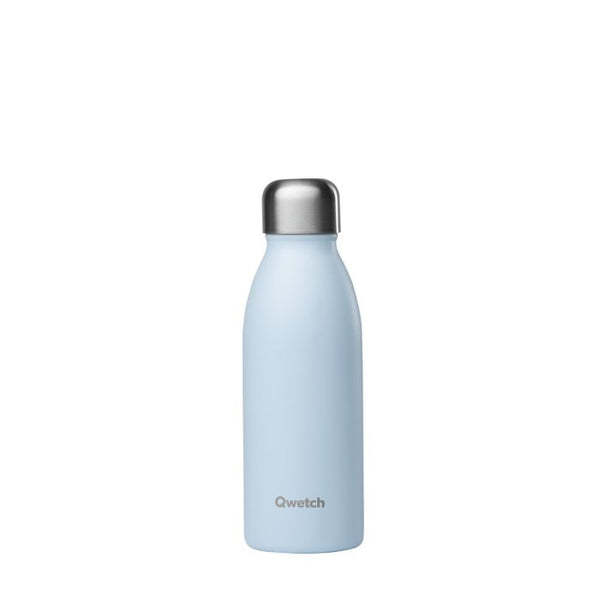Qwetch Small Reusable Bottle - Pastel Blue