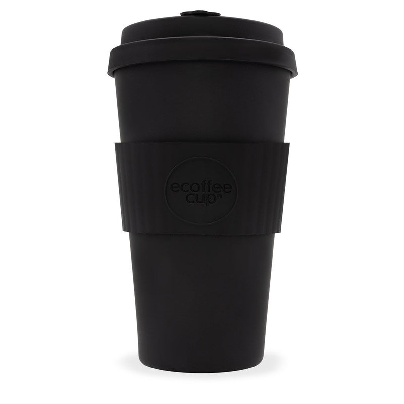 Ecoffee Reusable Cup Various Sizes Kerr & Napier Black 16oz 475ml