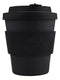 Ecoffee Reusable Cup Various Sizes Kerr & Napier Black 8oz 250ml