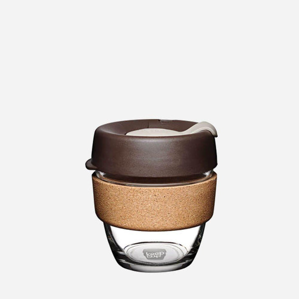 KeepCup Reusable Brew Cup Cork Small: Almond