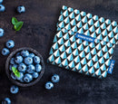 Snack 'n' go Snack Bag: Tiles Blue