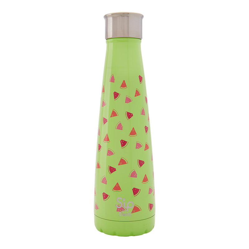 S'ip by S'well Large Reusable Bottle: Watermelon Cooler