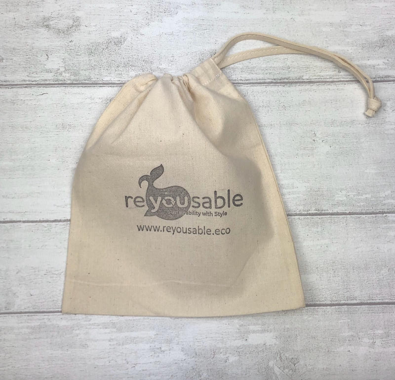 Cotton reusable bag
