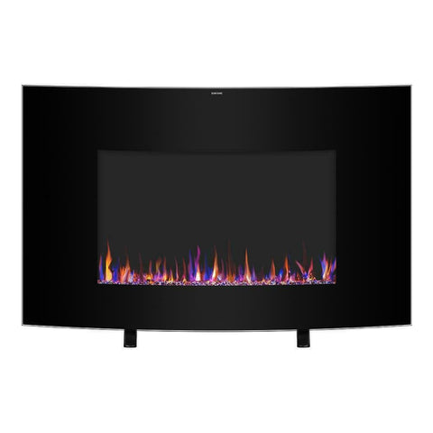 "Staulino 35"" Wall Mounted Electric Fireplace 35"" Wall Mounted Electric Fireplace"