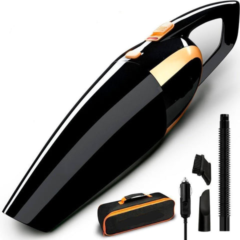Car Vacuum Cleaner Portable 12V Auto Handheld
