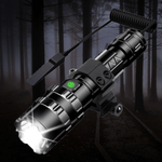 LED Tactical Flashlight Ultra Bright USB Rechargeable Waterproof 5 Modes