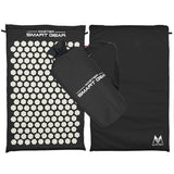 Staulino 200001928Acupressure Mat + Pillow Set Black Acupressure Mat + Pillow Set