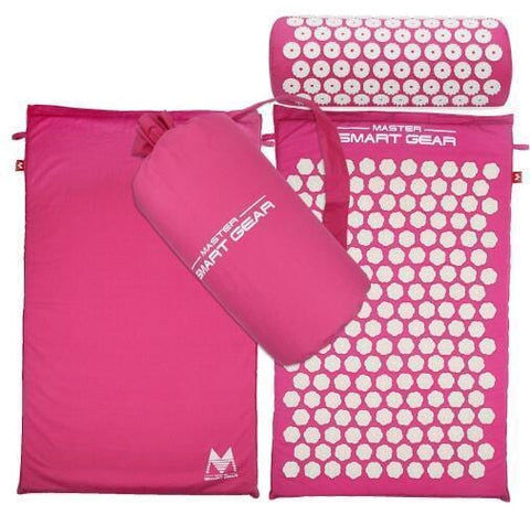 Staulino 200001928Acupressure Mat + Pillow Set Pink Acupressure Mat + Pillow Set