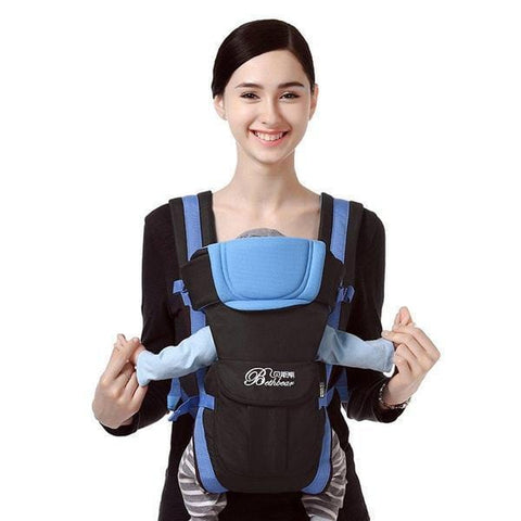 Baby Carrier 4-in-1 Positions Front Facing Toddler Infant Harness 360