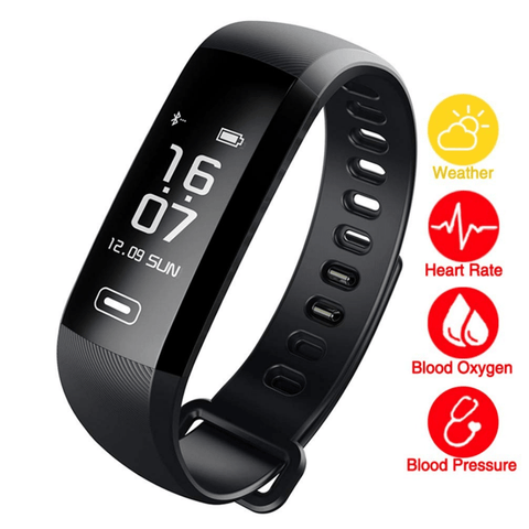 Staulino Blood Pressure Smart Watch Black Blood Pressure Smart Watch