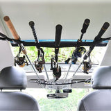 Car Fishing Rod Holder Pole Carrier SUV Straps System