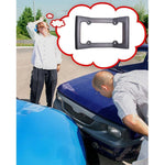 Car Front Bumper Guard License Plate Protector