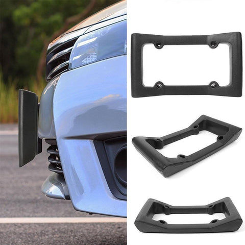 Staulino License Plate Car Front Bumper Guard