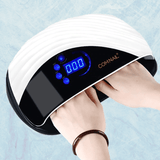Staulino LED UV Nail Lamp 120W Built-in Fan Gel Lamp Dryer Timer Double Hand COMNAIL™ LED UV Nail Lamp With Build-in Fan