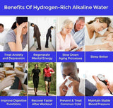 Staulino Portable Hydrogen H2 Rich Water Bottle Original Juno™ - Portable Water Alkaline Ionizer