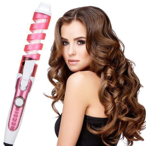 Staulino Curling Irons Pink Curlow™ Hair Curling Wand