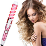 Curling Wand Iron Ceramic Spiral Professional Hair Styling