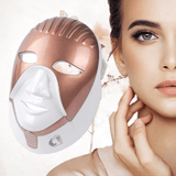 Staulino DermaLight™ LED Light Therapy Face/Neck Mask Gold DermaLuminate™ LED Light Therapy Face/Neck Mask