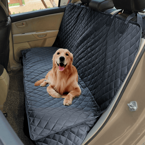 Dog Car Seat Cover Hammock Waterproof Pet Back Seat Protector Truck SUV Mesh
