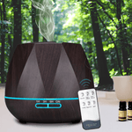 ssential Oil Diffuser With Controller LED Aromatherapy Humidifier