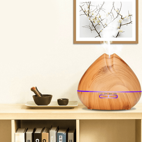 Essential Oil Diffuser With Controller LED Humidifier Aromatherapy