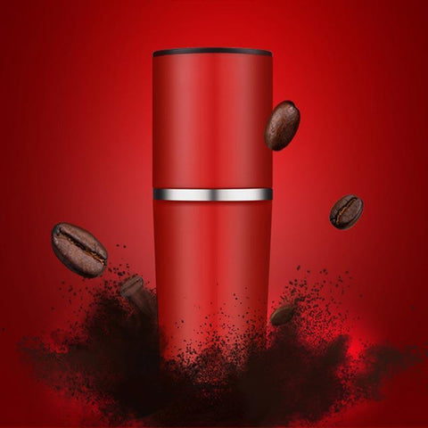 Staulino Portable Coffee Maker Red Portable Coffee Maker