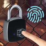 Staulino Fingerprint Smart Pad Lock Premium Fingerprint Smart Pad Lock