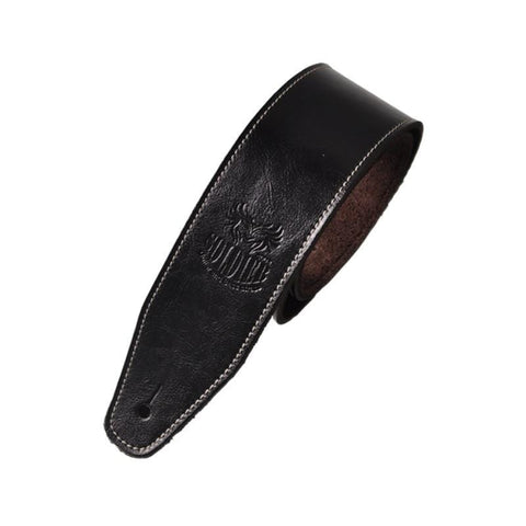 Staulino 100005513 Black Guitar Leather Strap
