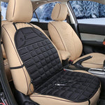 Staulino Automobiles Seat Covers Black / Set of 1 HeatBoost™ - The Heated Car Seat Cover