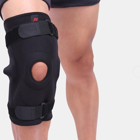 Knee Brace Support Joint Meniscus Stabilizer Adjust Hinged Compression