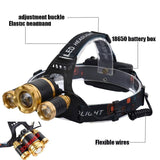Staulino LED Headlamp Rechargeable Lampr™ The LED Headlamp 15000LM