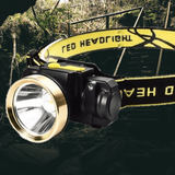 LED Headlamp Rechargeable 3000LM Zoomable Ultra Bright