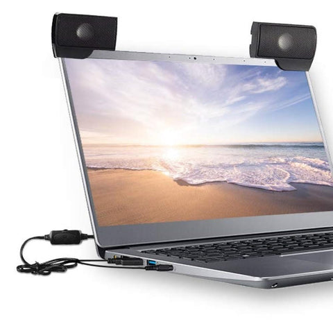 Laptop Speakers USB 2PC External Small Portable Stereo