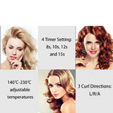 Staulino Professional Hair Curler Wand Professional Hair Curling Wand