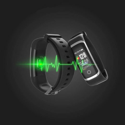 ThinkBand Blood Pressure Smart Watch Heart Rate Monitor and Pedometer