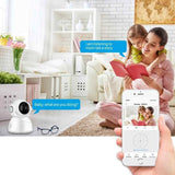 Staulino Video Baby Monitor Infrared Night Vision 1080P App Wi-Fi Wireless Camera LULO™ Wireless Video Baby Monitor HD