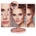 Magnifying LED Folding Makeup Mirror