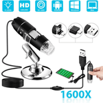 Staulino Microop™ Digital Microscope Camera 1600x 2MP HD