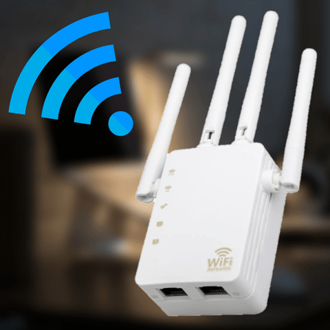partsdomauction Wi-Fi Range Extender Wall Plug Wireless Wi-Fi Signal Booster Repeater NETPULL™ Wi-Fi Range Extender PRO